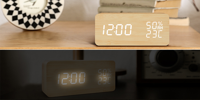 【FIBISONIC】 目覚まし時計